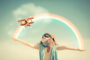 visualisieren imagination träumen vision