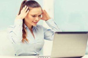 24.8 % der Erwerbstätigen sind bei der Arbeit übermässig gestresst!
