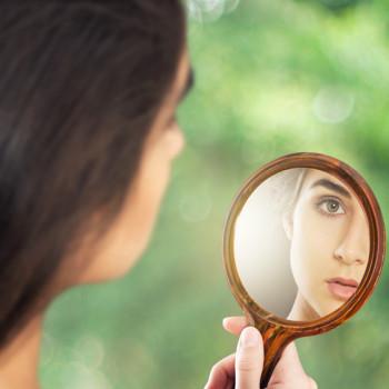Selbstbild Spiegel Selbstreflexion