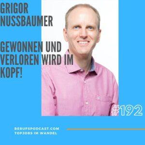 Grigor Nussbaumer Topjobs Mentaltraining Podcast