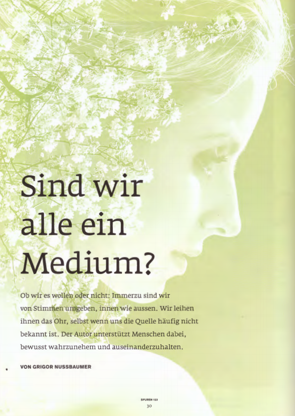 Artikel Mental Power Magazin Spuren