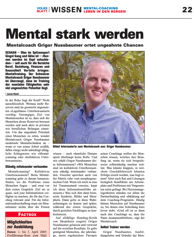 Artikel Mental Power