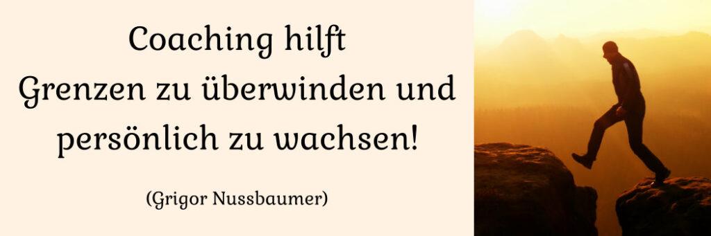 Coaching in der Schweiz bei Grigor Nussbaumer Mental Power
