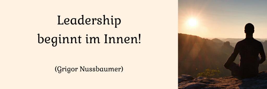 Leadership und Führung: Training, Seminare, Coaching bei Grigor Nussbaumer